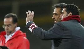 Rui Vitória: «Veremos se, até à hora de jogo, Jonas recupera»