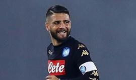 Lorenzo Insigne prolonga contrato com Nápoles