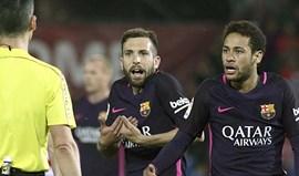 Barcelona exige que tribunal julgue recurso da suspensão de Neymar