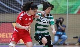 Nacional Feminino: Sporting vence Benfica na Luz num jogo que acabou em confusão