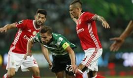 Sporting frente ao Benfica: Pura alma e coração