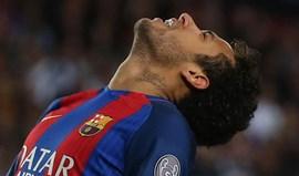 Barcelona descarta Neymar para o clássico