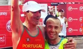 Paralímpico Gabriel Macchi conquista medalha de prata na Maratona de Londres