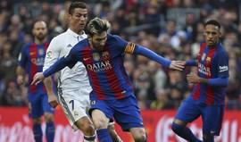 Real Madrid-Barcelona, em direto