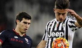 Juventus soma e segue com mais uma goleada