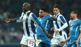 FC Porto frente ao Feirense: Comandante isolado