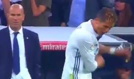 Ronaldo 'passou-se' mesmo a sério com golo de Messi