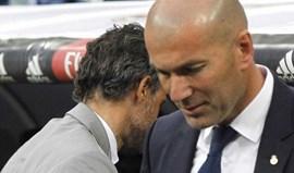 Zidane: «Pensámos que dava para mais um golo»
