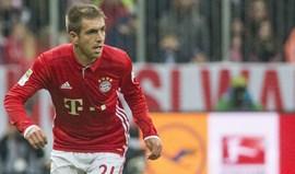 Lahm espera terminar a carreira na final da Taça da Alemanha