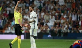 Sergio Ramos suspenso por um jogo