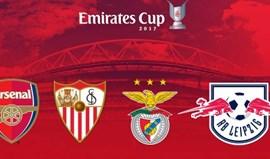 Benfica confirmado na Emirates Cup 2017