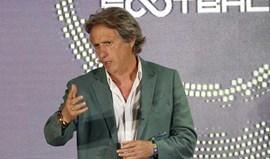 Jorge Jesus mostrou a sua 'cartilha' em PowerPoint