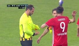 Grécia: AEK Atenas na final Taça e com... Hugo Almeida na baliza