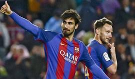 Barcelona goleia Osasuna com bis de André Gomes
