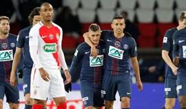 Monaco desfalcado não evita goleada em Paris