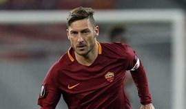 Totti: «O meu maior troféu é a minha lealdade a Roma»