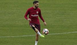 Atlético Madrid só não 'despacha' Carrasco no verão se o TAS mantiver castigo da FIFA