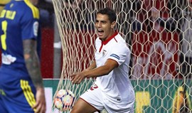 Sevilha vence Celta e pressiona Atlético Madrid