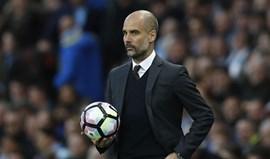Guardiola: «Não é fácil jogar contra tantos jogadores atrás da bola»