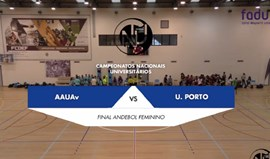 Final do Torneio de Andebol Feminino