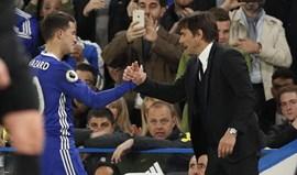 Conte não promete segurar Hazard