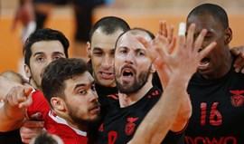 Benfica empata final do playoff com triunfo sobre Sp. Espinho