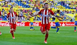 At. Madrid goleia em Las Palmas e segura terceiro posto