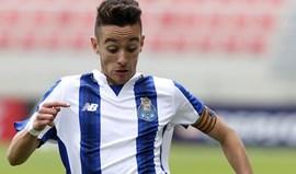 Juvenis: FC Porto-Sporting 0-0 (intervalo)