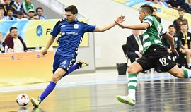 UEFA Futsal Cup: Sporting-Inter Movistar, 0-7