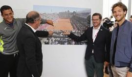 João Sousa e Almagro maravilhados com exposição