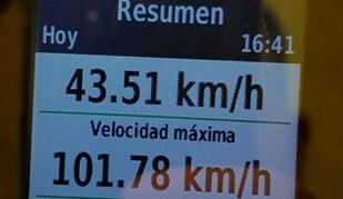 De loucos! Valverde supera os 100 km/h durante contrarrelógio