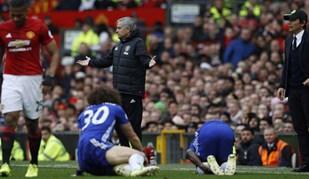 As melhores imagens do Manchester United-Chelsea