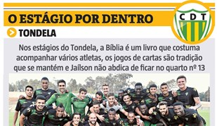 O estágio do Tondela por dentro