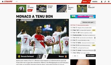 O que diz a imprensa internacional da vitória do Monaco na Alemanha