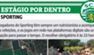 O estágio do Sporting por dentro