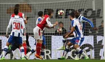 As melhores imagens do Sp. Braga-FC Porto
