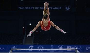 Filipa Martins na final 'all-around' dos Europeus de ginástica artística