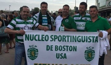 De Boston a Alvalade para apoiar o Sporting