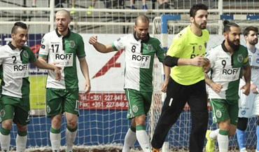 Sporting bate Modicus em vésperas de UEFA Futsal Cup