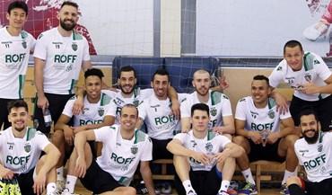 Sporting já está no Cazaquistão à procura do trono europeu no futsal