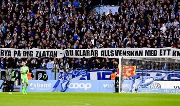 «Zlatan, aqui podes jogar só com um joelho»