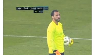 Hugo Almeida: «Fui eu que decidi ir para a baliza»