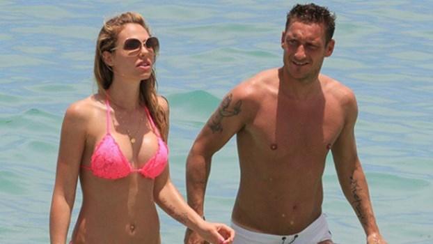 Totti é um homem de certezas e Ilary Blasi tem sido uma delas