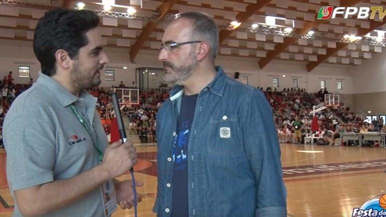 Moncho López na Festa do Basquetebol: «Tenho de estar em contacto com a formação»