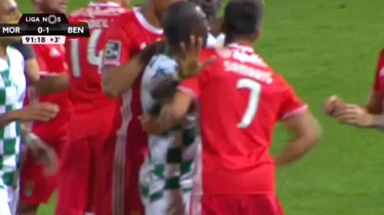 Samaris deu um soco em Diego Ivo