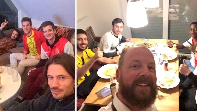 Adeptos do Borussia Dortmund acolhem fãs do Monaco nas suas casas