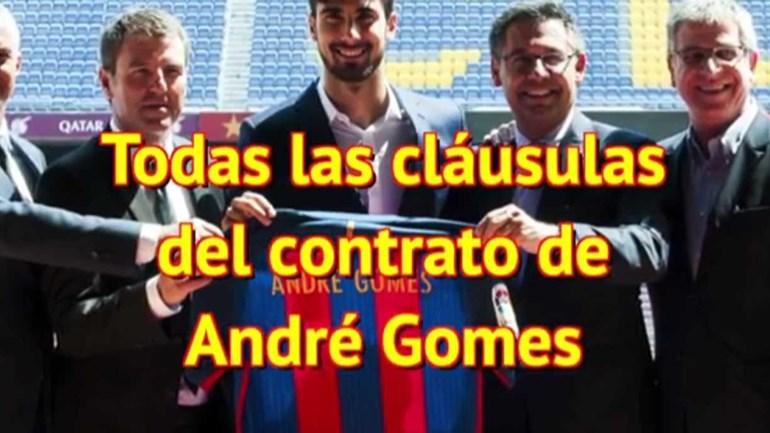 Espanhóis lembram as cláusulas loucas de André Gomes