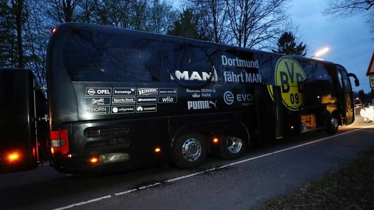 Autoridades alemãs detêm suspeito do atentado contra o autocarro do Dortmund
