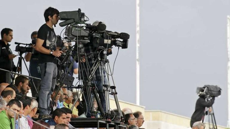 Sporting-Benfica com forte cobertura mediática: foram emitidas 400 credenciais