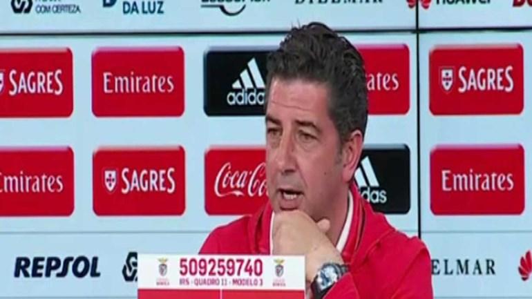 Rui Vitória: «O Benfica tem o seu futuro garantido»